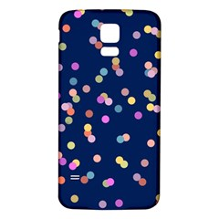 Playful Confetti Samsung Galaxy S5 Back Case (white)