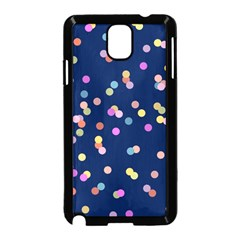 Playful Confetti Samsung Galaxy Note 3 Neo Hardshell Case (black)