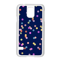 Playful Confetti Samsung Galaxy S5 Case (white)