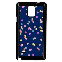 Playful Confetti Samsung Galaxy Note 4 Case (black)