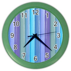 Provence Fields Lavender Pattern Color Wall Clocks