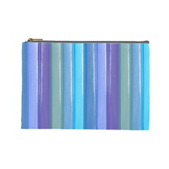 Provence Fields Lavender Pattern Cosmetic Bag (large)