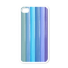 Provence Fields Lavender Pattern Apple Iphone 4 Case (white)