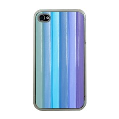 Provence Fields Lavender Pattern Apple Iphone 4 Case (clear)