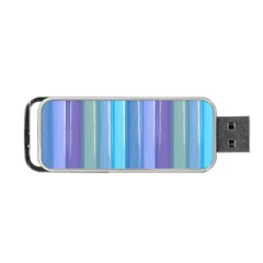 Provence Fields Lavender Pattern Portable Usb Flash (two Sides)