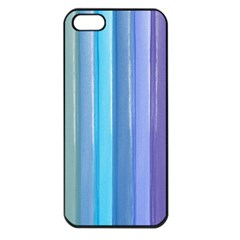 Provence Fields Lavender Pattern Apple Iphone 5 Seamless Case (black)