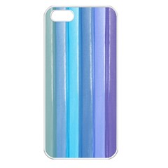 Provence Fields Lavender Pattern Apple Iphone 5 Seamless Case (white)