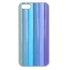 Provence Fields Lavender Pattern Apple Seamless Iphone 5 Case (clear)