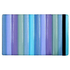 Provence Fields Lavender Pattern Apple Ipad 2 Flip Case