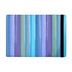 Provence Fields Lavender Pattern Apple Ipad Mini Flip Case