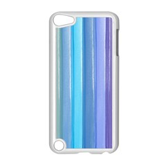 Provence Fields Lavender Pattern Apple Ipod Touch 5 Case (white)