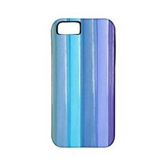 Provence Fields Lavender Pattern Apple Iphone 5 Classic Hardshell Case (pc+silicone)