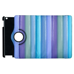 Provence Fields Lavender Pattern Apple Ipad 3/4 Flip 360 Case