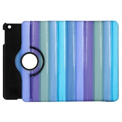 Provence Fields Lavender Pattern Apple Ipad Mini Flip 360 Case