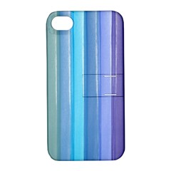 Provence Fields Lavender Pattern Apple Iphone 4/4s Hardshell Case With Stand