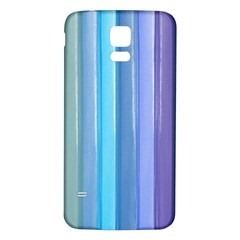 Provence Fields Lavender Pattern Samsung Galaxy S5 Back Case (white)
