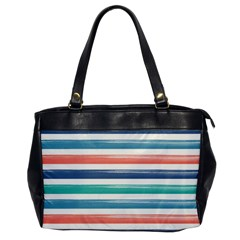 Summer Mood Striped Pattern Office Handbags