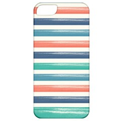 Summer Mood Striped Pattern Apple Iphone 5 Classic Hardshell Case