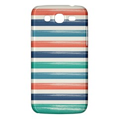 Summer Mood Striped Pattern Samsung Galaxy Mega 5 8 I9152 Hardshell Case