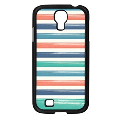Summer Mood Striped Pattern Samsung Galaxy S4 I9500/ I9505 Case (black)