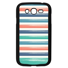 Summer Mood Striped Pattern Samsung Galaxy Grand Duos I9082 Case (black)