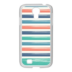 Summer Mood Striped Pattern Samsung Galaxy S4 I9500/ I9505 Case (white)