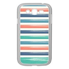 Summer Mood Striped Pattern Samsung Galaxy Grand Duos I9082 Case (white)