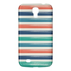 Summer Mood Striped Pattern Samsung Galaxy Mega 6 3  I9200 Hardshell Case