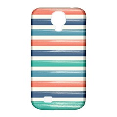 Summer Mood Striped Pattern Samsung Galaxy S4 Classic Hardshell Case (pc+silicone)