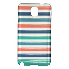 Summer Mood Striped Pattern Samsung Galaxy Note 3 N9005 Hardshell Case