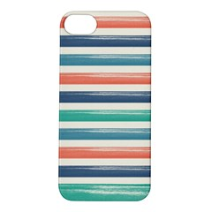 Summer Mood Striped Pattern Apple Iphone 5s/ Se Hardshell Case