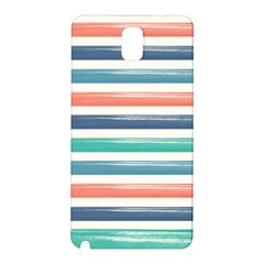 Summer Mood Striped Pattern Samsung Galaxy Note 3 N9005 Hardshell Back Case