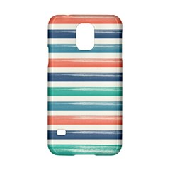 Summer Mood Striped Pattern Samsung Galaxy S5 Hardshell Case