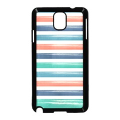 Summer Mood Striped Pattern Samsung Galaxy Note 3 Neo Hardshell Case (black)