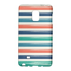Summer Mood Striped Pattern Galaxy Note Edge