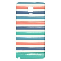 Summer Mood Striped Pattern Galaxy Note 4 Back Case