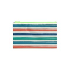 Summer Mood Striped Pattern Cosmetic Bag (xs)