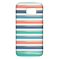 Summer Mood Striped Pattern Galaxy S6