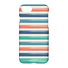 Summer Mood Striped Pattern Apple Iphone 7 Hardshell Case