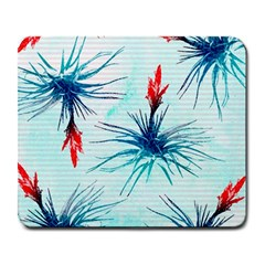 Tillansia Flowers Pattern Large Mousepads