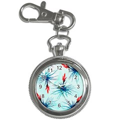 Tillansia Flowers Pattern Key Chain Watches