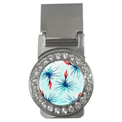 Tillansia Flowers Pattern Money Clips (cz)