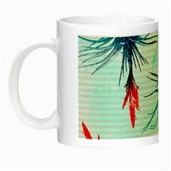 Tillansia Flowers Pattern Night Luminous Mugs