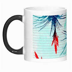 Tillansia Flowers Pattern Morph Mugs