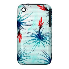 Tillansia Flowers Pattern Iphone 3s/3gs