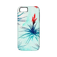 Tillansia Flowers Pattern Apple Iphone 5 Classic Hardshell Case (pc+silicone)