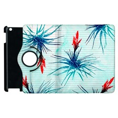 Tillansia Flowers Pattern Apple Ipad 3/4 Flip 360 Case
