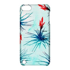 Tillansia Flowers Pattern Apple Ipod Touch 5 Hardshell Case With Stand