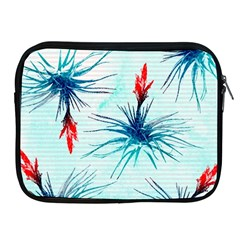 Tillansia Flowers Pattern Apple Ipad 2/3/4 Zipper Cases