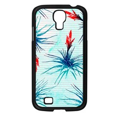 Tillansia Flowers Pattern Samsung Galaxy S4 I9500/ I9505 Case (black)